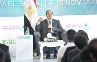 """متحدث """"الرئاسة"""": الرئيس السيسي وجه رسالة  للعالم بتقديره للمرأة.. وهناك رصد للتفاعل داخل المنتدى"""