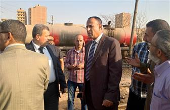 """جولة مفاجئة لرئيس هيئة السكة الحديد  في ورش ديزل """"الواسطى"""" ومحطة القطارات   صور"""