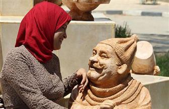 النحاتة مي عبد الله: تمثال محمد صلاح سيكون له أولوية قصوى
