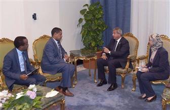 وزير الشباب والرياضة يلتقى نظيره الإثيوبي لبحث التعاون المشترك