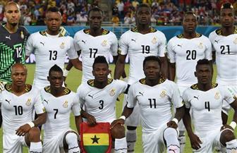 غانا تخوض أول تدريب غدًا استعدادًا لمباراة الفراعنة