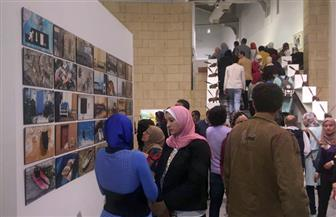 رئيس قطاع الفنون التشكيلية يفتتح الدورة 28 لصالون الشباب بالأوبرا | صور