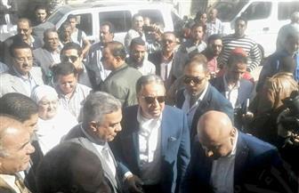وزير الصحة يستمع لشكاوى العاملين بمستشفى العامرية بالإسكندرية| صور