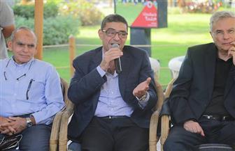 محمود طاهر لأعضاء الأهلى فى مدينة نصر : هناك طفرة قادمة