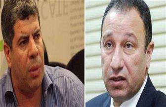 الخطيب مع شوبير بعد فوزه برئاسة النادي الأهلى: الحضور التاريخي كان متوقعًا