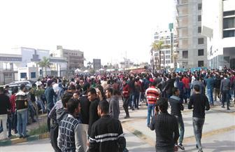 وقفة احتجاجية لطلاب جامعة دمنهور للتنديد بالقرارات الأمريكية لتهويد القدس| صور