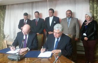 وزير التعليم العالي يشهد توقيع مذكرة تفاهم بين جامعة عين شمس وجامعة ساوث بانك البريطانية