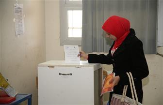 إقبال كبير على انتخابات اتحاد الطلاب بكليتي الآداب والتربية بجامعة جنوب الوادى | صور