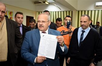 رئيس جامعة القاهرة: التزكية تحسم الانتخابات الطلابية بـ8 كليات من أصل 20 | صور