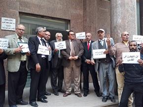 وقفة للمحامين بالبحيرة تنديدًا بقرار نقل السفارة الأمريكية إلى القدس | صور