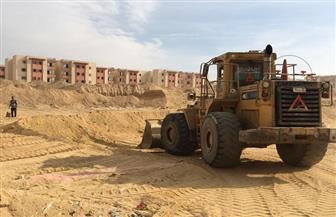 بدء حفر بناء أول مسجد بالإسكان الاجتماعي بـ6 أكتوبر الجديدة | صور