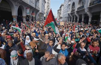 عشرات الآلاف يتظاهرون في المغرب تنديدًا بقرار ترامب بشأن القدس