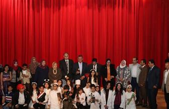"""الطلاب المشاركون بمسابقة مديرية التعليم بكفر الشيخ يهتفون """"القدس عربية"""""""
