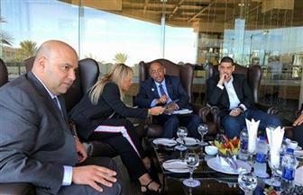 اجتماع المصدرين المصريين وشباب الأعمال بنائب رئيس ساحل العاج لتعزيز التبادل التجاري