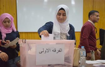 إجراء-جولة-الإعادة-لانتخابات-اتحاد-الطلاب-في-لجان-بكليتي-دار-العلوم-والآثار-بجامعة-الفيوم