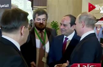 وصول موكب الرئيس الروسي للاتحادية