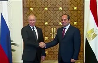 بدء القمة المصرية - الروسية بقصر الاتحادية