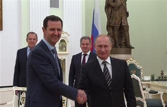 الأسد لبوتين: الشعب السوري لن ينسى تضحيات العسكريين الروس في دحر الإرهاب
