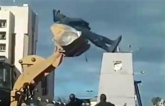 نقل رئيس حي شرق بورسعيد لاحتواء أزمة تهشم تمثال عبد المنعم رياض