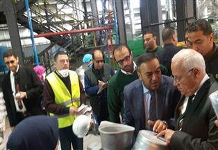 محافظ بورسعيد يفتتح مصنعًا لإنتاج أواني الطهي باستثمارات 125 مليون جنيه