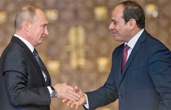 بوتين يغادر القاهرة بعد انتهاء القمة المصرية الروسية المشتركة