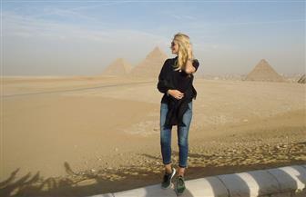 السياحة: زيارة ملكة جمال روسيا لها أثر إيجابي في تحسين الصورة الذهنية للمقصد المصري