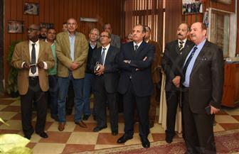 محافظ الإسكندرية يتفقد استعدادات شركة الصرف الصحي  لموسم الشتاء | صور