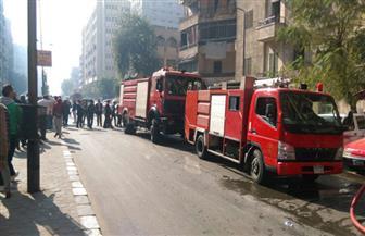 حريق يلتهم صالة خاصة للألعاب الرياضية بسبب ماس كهربائي بكفر الشيخ