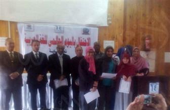 كلية التربية بالغردقة تحتفل باليوم العالمي للغة العربية   صور