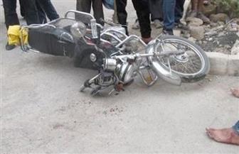 """مصرع طالبين وإصابة ثالث في حادث """"موتوسيكل"""" بالقليوبية"""