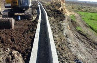 وزارة الري تنفذ حزمة من المشروعات المائية بأسيوط بتكلفة 148 مليون جنيه   صور