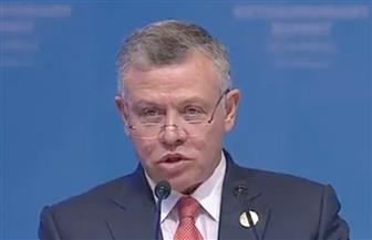 ملك الأردن: لن تنعم منطقتنا بالسلام إلا بحل الدولتين