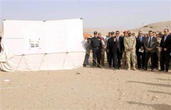 """محافظ الأقصر يشهد سيناريو """"صقر 21"""" لإدارة أزمة السيول بمدينة الطود   فيديو"""