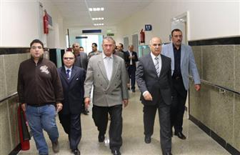 محافظ كفر الشيخ يتفقد المستشفى الجامعي الجديد بتكلفة 370 مليون جنيه | صور
