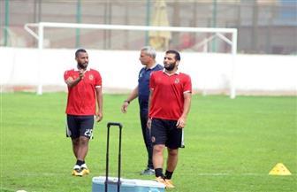 """عماد متعب وحسام عاشور ينتظمان في مران الأهلي"""" استعدادًا لمواجهة طنطا"""