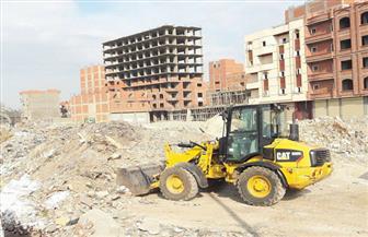 تحرير47 محضرا لمخلفات بناء بقرى مركز المنيا