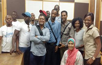 شبكة البرنامج الأوروبي تستضيف وفد الإعلاميين الأفارقة في ورشة عمل عن (الريبورتاج الإذاعي)