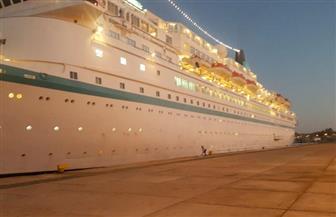وصول 695 سائحًا لميناء شرم الشيخ البحري   صور