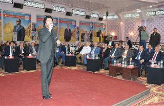 محافظ سوهاج يشهد الحفل الفني لملتقى شباب الصعيد| صور