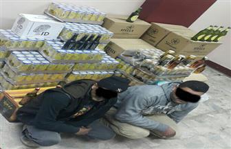 ضبط عاملين لاتجارهما في مواد كحولية مجهولة المصدر بنبروه