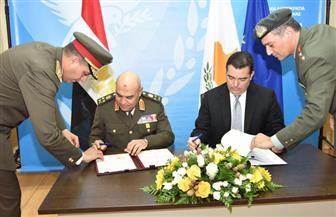 وزراء دفاع مصر وقبرص واليونان يتفقون على تأسيس آلية للتعاون العسكري ومكافحة الإرهاب