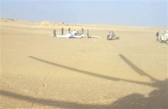 في حادث طائرة التدريب.. لجنة من تحليل الحوادث والنيابة والطب الشرعي للمعاينة