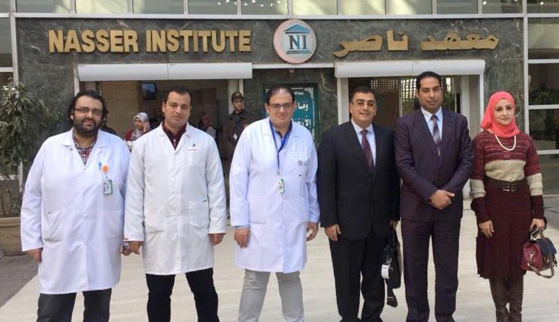 محاضرة لـ خبير  حول  الجديد في سرطان الثدي  بمعهد ناصر    صور -