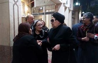 """عزاء الإعلامية """"سامية صادق"""" بمسجد الحامدية الشاذلية / صور"""