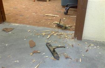 عاطلان وراء سرقة بعض المحتويات من داخل مدرسة بالمنيا