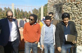أحمد عواض يتفقد الإنشاءات في قصر ثقافة شرم الشيخ | صور