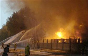 حريق محدود في كابينة دهانات في مصنع بدمياط الجديدة