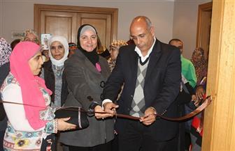 """رئيس صندوق التنمية الثقافية يفتتح معرض """"أنامل مبدعة"""""""