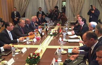 اجتماع دول الجوار الثلاثى يؤكد رفض أى تدخل خارجى بليبيا.. ويدعو لإنجاز الاستحقاقات الدستورية والتشريعية
