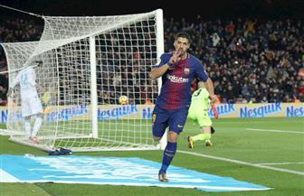 سواريز يفتتح التسجيل لبرشلونة في نهائي كأس ملك إسبانيا